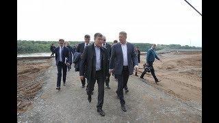 Радий Хабиров оценил ход реконструкции уфимской набережной