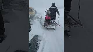 Башкирский МЧС, дороги нет, буран в Баймаке