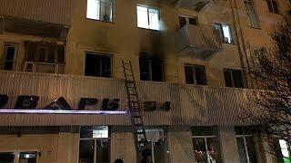 Крупный пожар в Уфе: погибли две женщины, один мужчина госпитализирован
