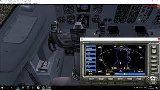 Полет Хабаровск-Благовещенск на Boeing 737-400 в MFS2004. Часть 2