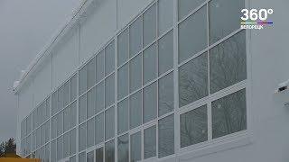 В Белорецке строится новый спортзал