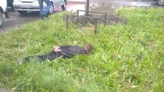 Задержание угонщиков в Нижегородке