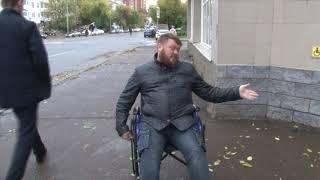 На инвалидной коляске по Уфе. Журналист поставил эксперимент