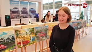 Подвели итоги конкурса рисунков «Автомобильный мир»
