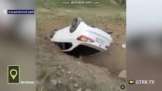 Странное ДТП: на склоне горы в Башкирии нашли перевернутую машину (видео)