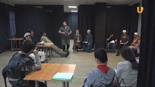 """Новости UTV. Подготовка к премьере спектакля """"Куштирек"""" в СТКО"""