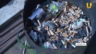 Новости UTV. Неосторожность при курении