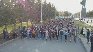 UTV. В Уфе завершился первый этап городских репетиций Весеннего бала 2019