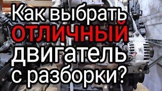 Как выбрать бу двигатель с разборки? Все нюансы покупки контрактного мотора