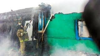 В Башкирии при пожаре погиб трехлетний ребенок