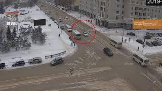 Еженедельный обзор ДТП с камер Уфанет с 2 по 8 февраля 2019