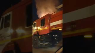 В ночь на 22 апреля в Благовещенске пожарные отстояли барак на Лазо