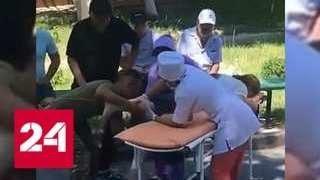 Снаряд угодил в машину с бежавшими из казахского Арыса жителями - Россия 24