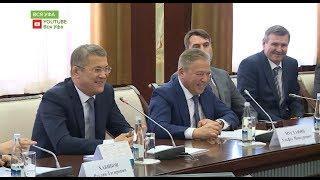 В Доме Республики Радий Хабиров встретился с игроками и руководством ВК «Урал»