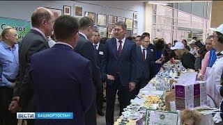 Радий Хабиров посетил агропромышленную выставку в уфимском Конгресс-холле