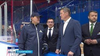 Радий Хабиров встретился с хоккеистами «Салавата Юлаева»