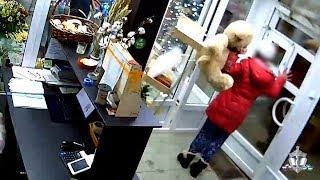 Уфимка ограбила цветочный магазин