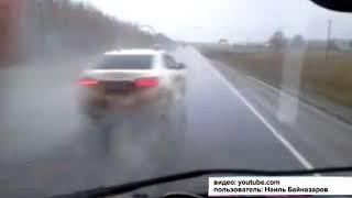 В Дюртюлинском районе лихач на огромной скорости едва не устроил массовое ДТП