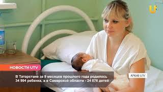 Новости UTV. В Башкирии упала рождаемость