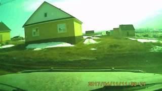 УАЗ PARTIOT. Выезд из села Агиртамак Туймазинский район Респ. Башкортостан