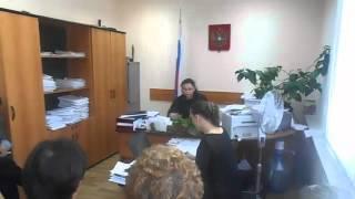 Октябрьский районный суд Уфы, судья заявляет, что не имеет документов  Действие второе