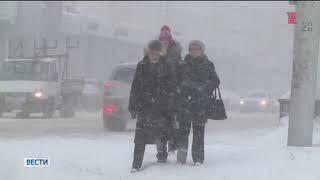 Жителей Башкирии предупредили о морозах и усилении ветра на трассах