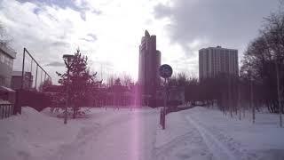 уфа  башкирия россия город центр рынок прогулка ул революционная-ленина парк якутова 4 марта 2021 г