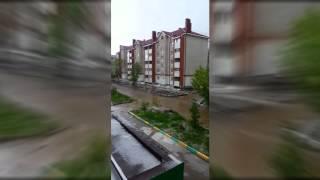 В Башкирии затопило город Октябрьский