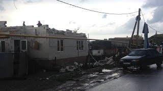 Башкирия, Архангельский район, село Архангельское, ураган, сорвал крыши домов