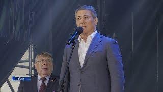 Радий Хабиров поприветствовал участников VI Спартакиады пенсионеров России