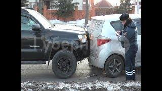 Пять машин попали в двухсерийную аварию на Шелеста в Хабаровске. MestoproTV