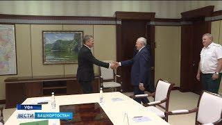 Радий Хабиров встретился с руководителем Федеральной таможенной службы Владимиром Булавиным