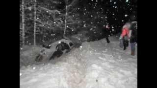 Авария 3 января на трассе Учалы-Уфа