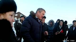 Радий Хабиров встреча с жителями п. Северный го Сибай
