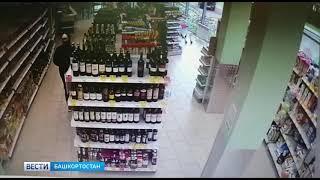 Уфимец в розыске попал на видео во время очередного преступления