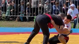 Сабантуй 2019 Москва Көрәш Борьба на кушаках