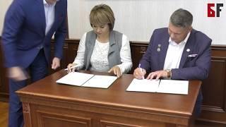 """Ветераны ВДВ и партия """"Зеленые"""" подписали договор о сотрудничестве"""