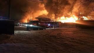 Появилась первая информация о причинах пожара на заводе «Нефтехим» в Уфе