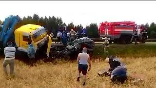 Авария в Бирском районе. 17 августа