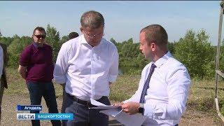 На месте бывшей Башкирской Атомной электростанции завершается строительство зернового терминала