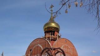 Каменщик Геннадий строит один Храм в Белорецке