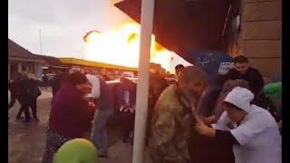 Взрыв на АЗС в селе Гехи Чеченская республика. Взрыв заправки в Чечне