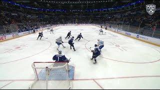 Первый гол Метальникова в КХЛ