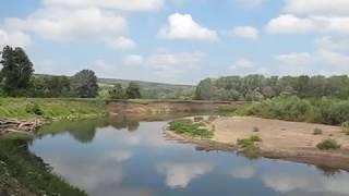 Отдых на реке Большой Ик в Кугарчинском районе Республики Башкортостан