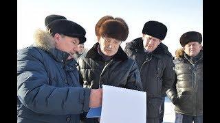 Глава Башкортостана Рустэм Хамитов побывал с рабочей поездкой в Илишевском районе