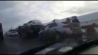 В Салаватском районе в минувшую субботу в ДТП погиб мужчина Видео