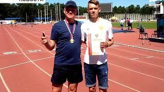 Бирянин выиграл Чемпионат России по лёгкой атлетике для спортсменов с ограничениями по зрению
