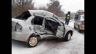 В ДТП в Башкирии в городе Туймазы погибла пассажирка Калины
