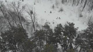 UTV. В Уфе спасатели и волонтёры отработали действия по спасению людей при авиакрушении