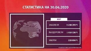 UTV. Коронавирус в Башкирии, России и мире на 30 апреля 2020. Плюс опрос уфимцев